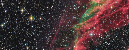Detail from The Veil Nebula Complex by Johannes Schedler