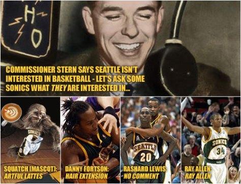 Seattle Supersonics Interests