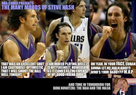 The Many Moods of Steve Nash