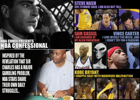 Nash, Cassell, Vinsanity & Kobe in the NBA Confessional