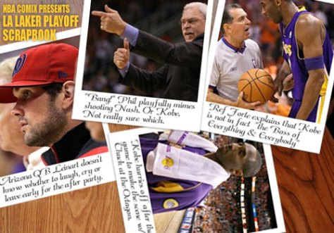 LA Laker Playoff Scrapbook