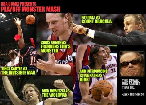 NBA Playoff Monster Mash