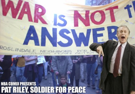 Pat Riley, Soldier for Peace