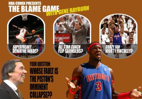 NBA Blame Game with Gene Rayburn