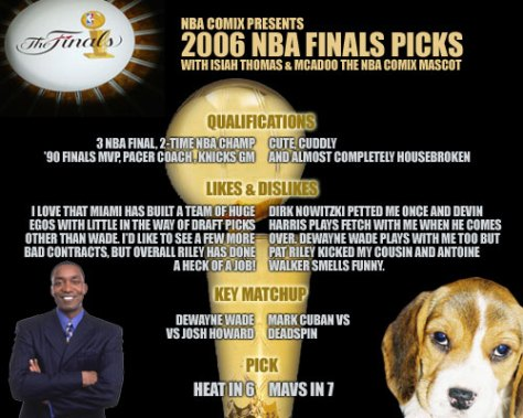 2006 Finals Picks