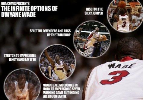 The Infinite Options of Dwyane Wade