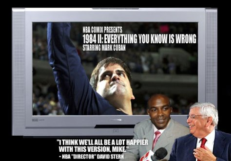 1984 II, Everything You Know Is Wrong (starring Mark Cuban)
