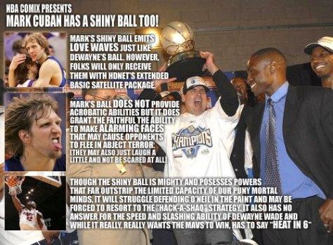 Mark Cuban has a Shiny Ball Too!