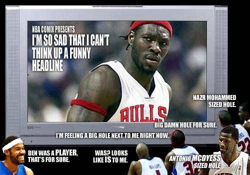 Ben Wallace goes to the frikkin bulls and you're reading ALT tags??