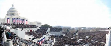 Obama Inaugural by David Bergman