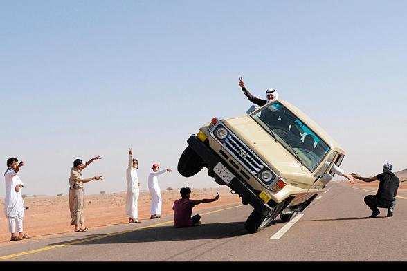 Saudi Stunts