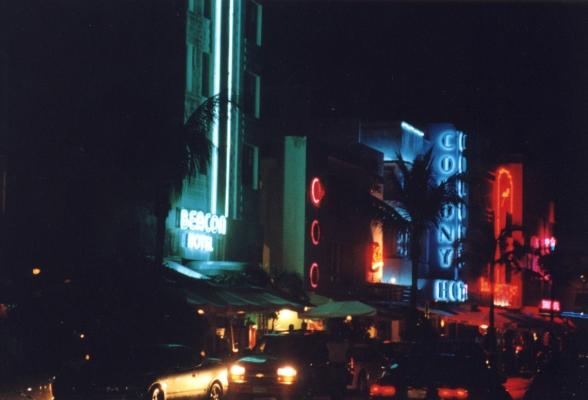 South Beach Neon